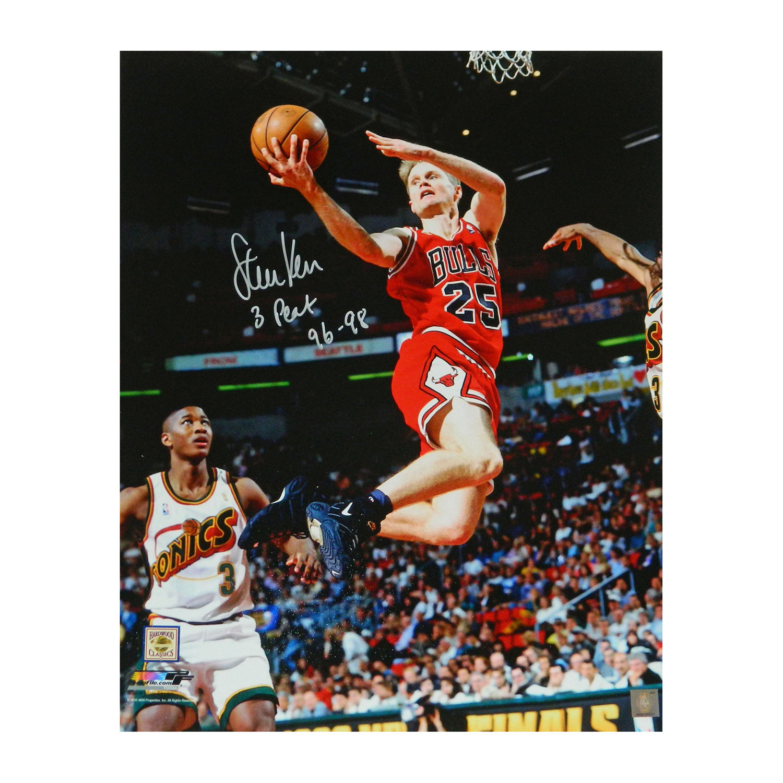 8fd1abb24 142857789955bab5a1ce7c4f199096e7 medium. Steve Kerr Signed Chicago Bulls ...