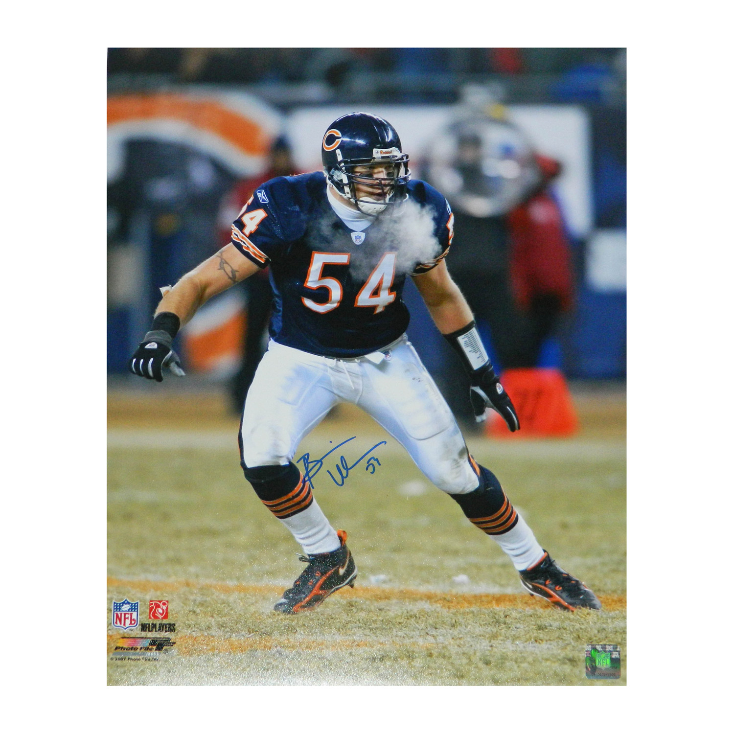 ab69b27f6db 22db11e038aace58e6fe22d97dc732ba medium · Brian Urlacher Signed Chicago  Bears ...
