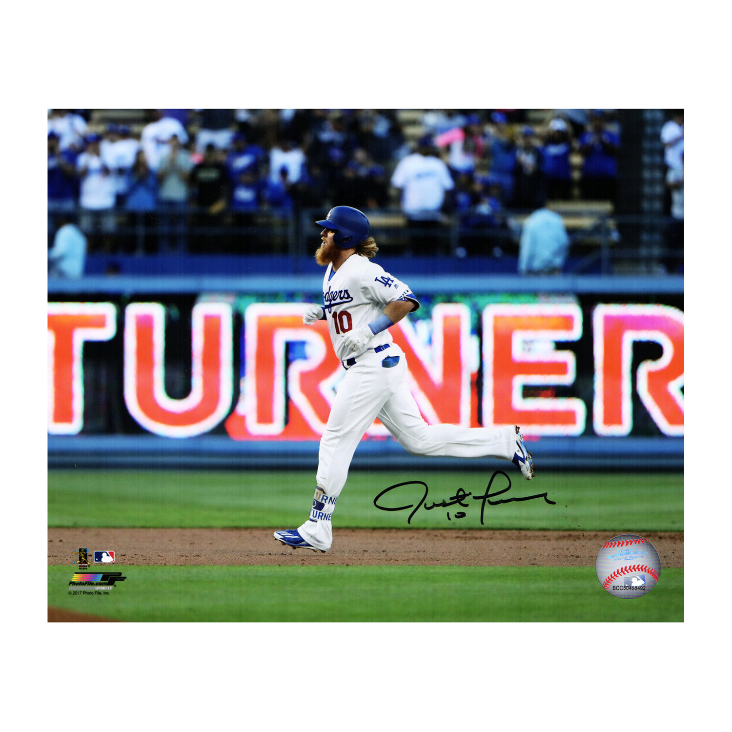 5fd6b5be8 5714e2a28ee126ef7ae08c840cca2d3e medium · Justin Turner Signed Los Angeles  Dodgers ...