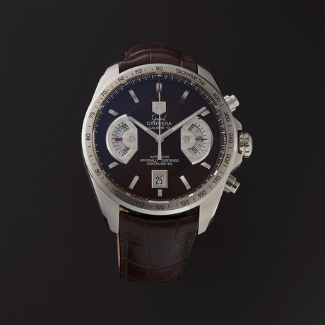 Tag Heuer Grand Carrera Chronograph Automatic // CAV511E.FC6231 // Store Display