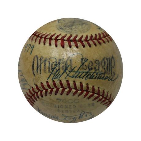 Hall of Famers 16 Signature MLB Baseball