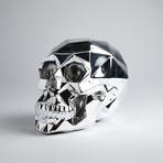 Chrome Polygon Skull
