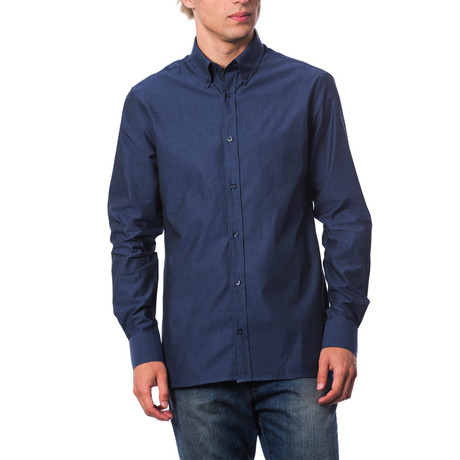 Fiesi Dress Shirt // Dark Navy