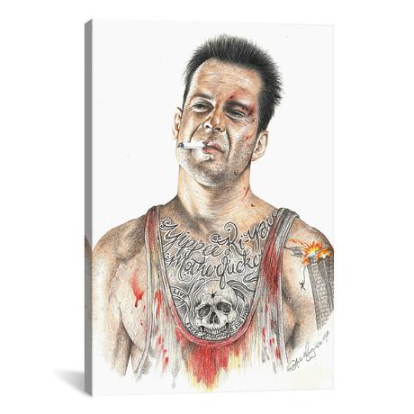 """Die Hard (12""""W x 18""""H x 0.75""""D)"""