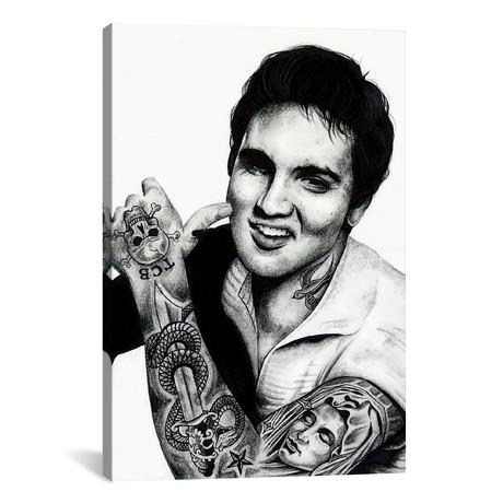 """Elvis (12""""W x 18""""H x 0.75""""D)"""