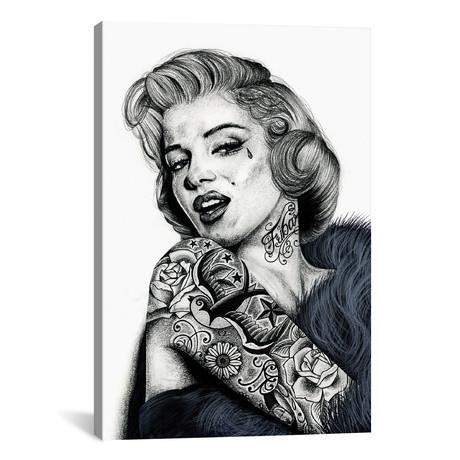 "Marilyn Monroe (12""W x 18""H x 0.75""D)"