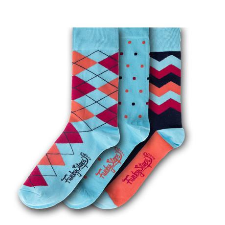 Socks // Teal // Set of 3