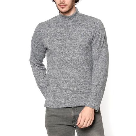 Turtleneck Sweatshirt // Anthracite