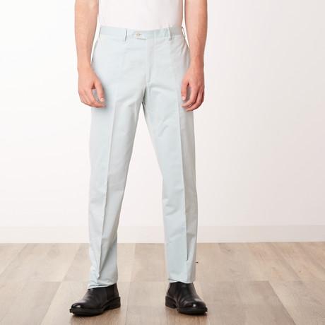 Classic Slim Fit Trouser // Green (Euro: 46)