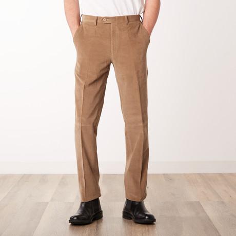 Classic Slim Fit Trouser // Beige (Euro: 46)