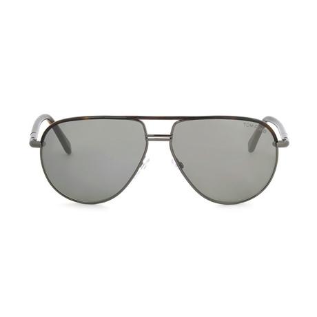 Cole Sunglasses // Gunmetal Havana