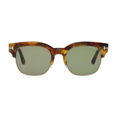 Men's Harry Sunglasses // Havana + Green