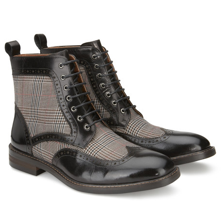 Helidor Lace-Up Boot // Black