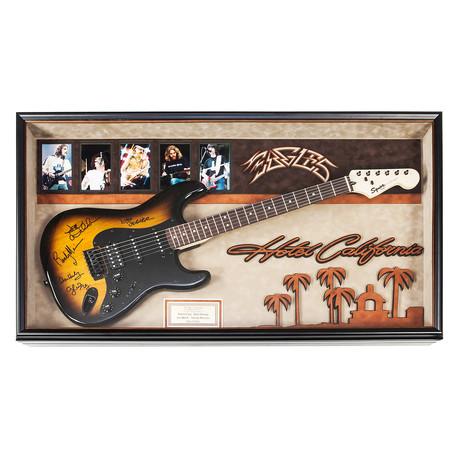 Framed Autographed Guitar // Eagles