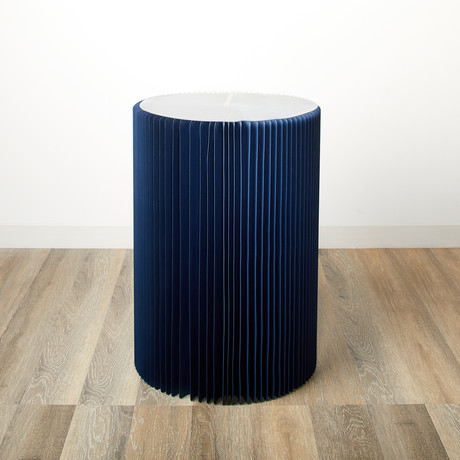 Accordion Table // Blue