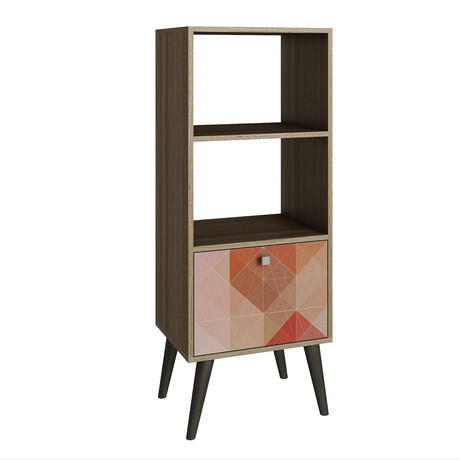 Cypress Double Bookcase