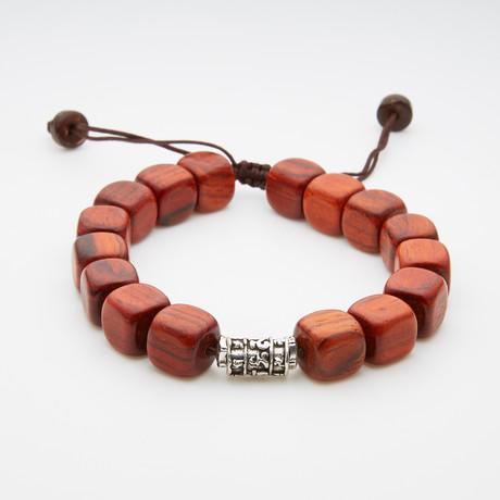 Spiritual Wooden Beaded Bracelet