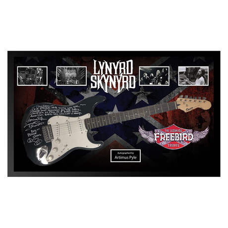 Framed Autographed Guitar // Lynyrd Skynyrd