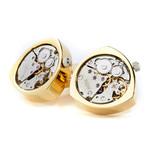 Bond Watch Cufflinks // Gold