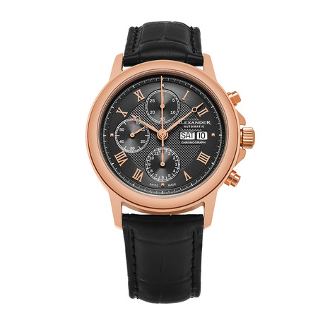 Alexander Watch Statesman Chronograph Automatic // A473-03