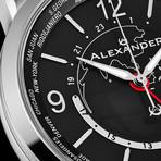 Alexander Watch Heroic GMT Quartz // A171-01