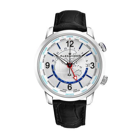 Alexander Watch Heroic GMT Quartz // A171-02
