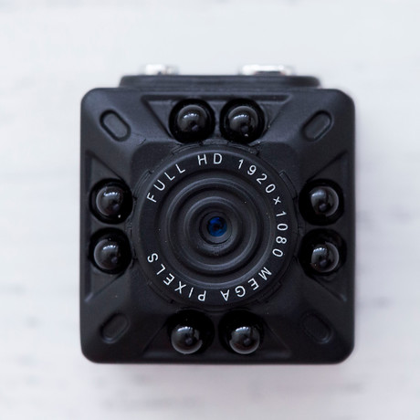 Security Mini Camera // Black