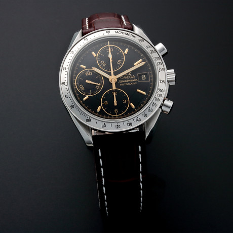 Omega Speedmaster Date Chronograph Automatic // Special Edition // 35138 // Pre-Owned