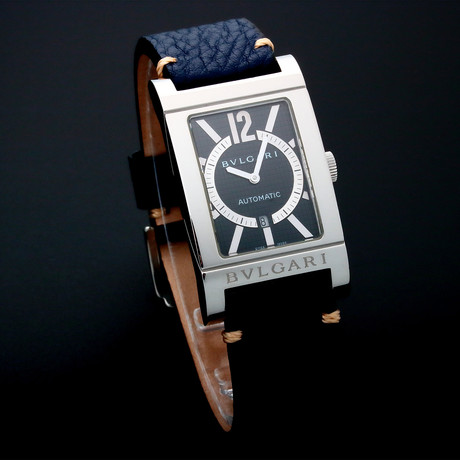 Bvlgari Rettangalo Date Automatic // RT4S // Pre-Owned