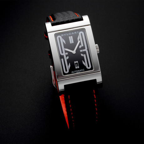 Bvlgari Rettangalo Automatic // RT4S // Pre-Owned