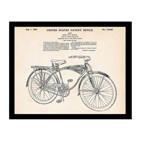 Bicycle Patent Print 2