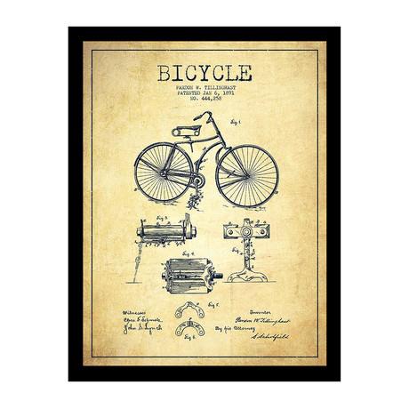 Bicycle Patent Print 1