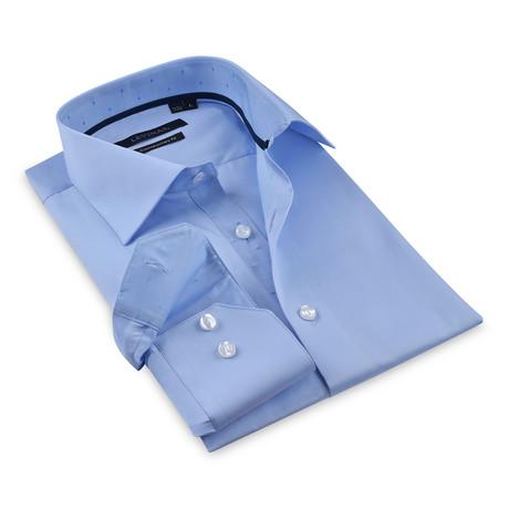 Button-Up Shirt // Light Blue (S)