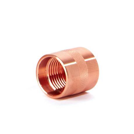 Machined Copper Screw Top