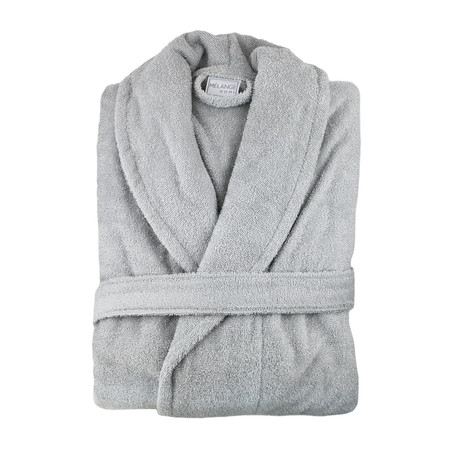 Zero Twist Bath Robe (Anthracite Grey)