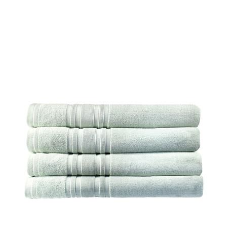 Haute Monde Bath Towel // 4-Piece Set // Seacre Green