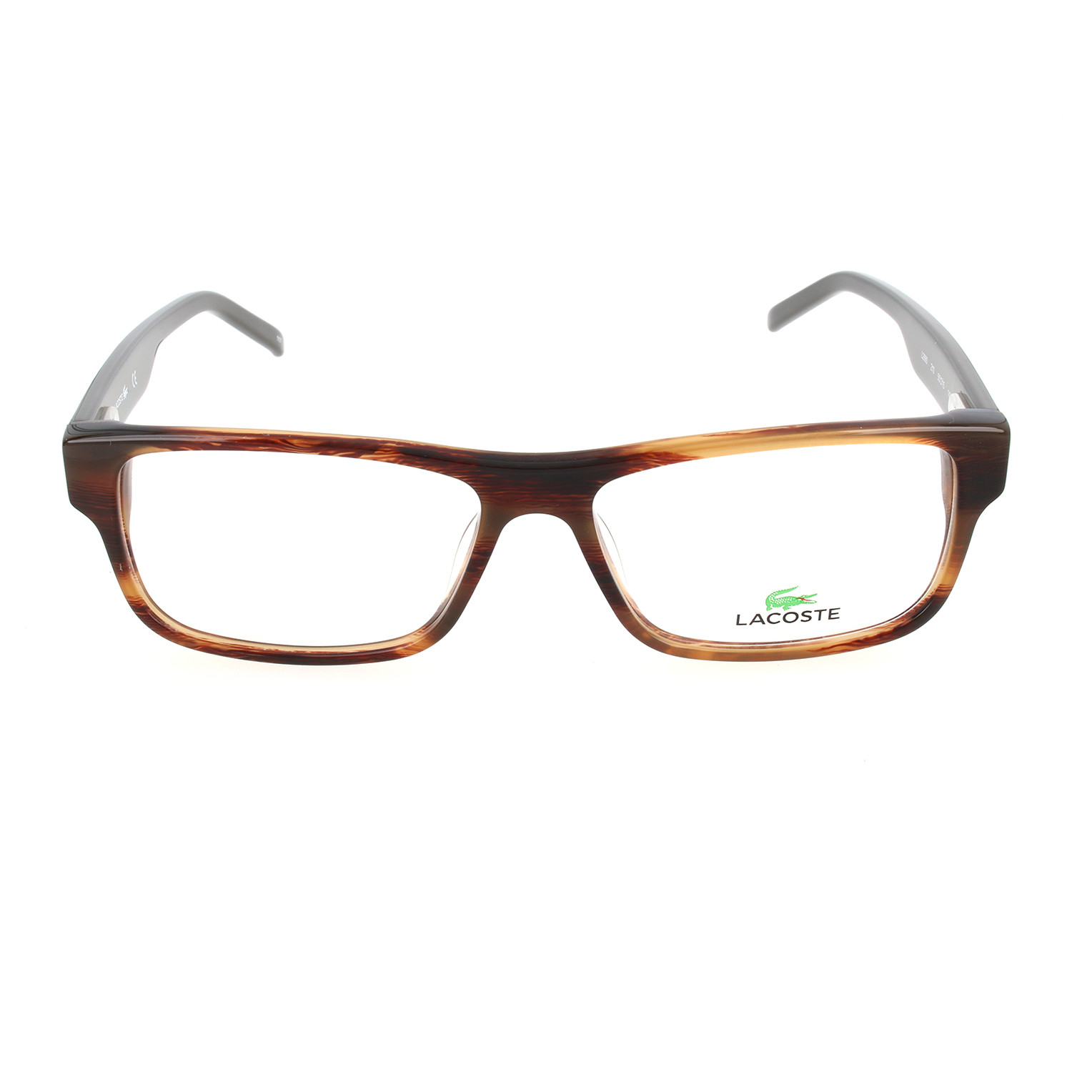 Martin Frames // Brown Horn (53mm) - Lacoste - Touch of Modern