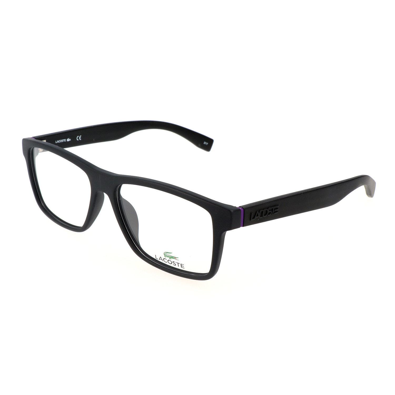 Bernal Frames // Matte Black - Lacoste - Touch of Modern