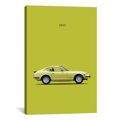 """1969 Datsun 240Z (26""""W x 18""""H x 0.75""""D)"""