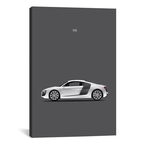 """Audi R8 (26""""W x 18""""H x 0.75""""D)"""