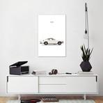 "Volvo P1800 // Mark Rogan (12""W x 18""H x 0.75""D)"