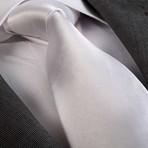 Ricky Silk Tie // White