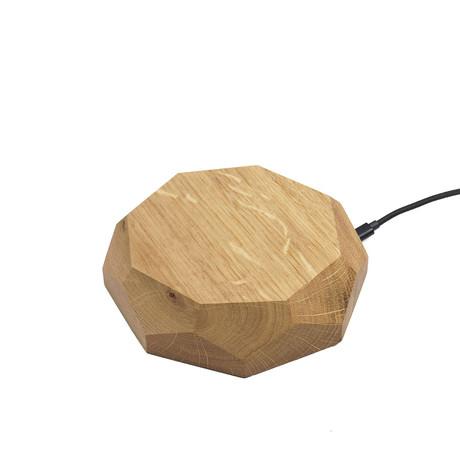 Wireless Charger // Oak