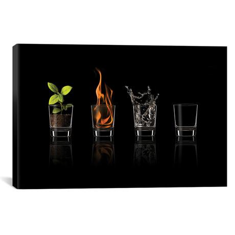 """Elements... // Jose María Frutos (40""""W x 26""""H x 1.5""""D)"""