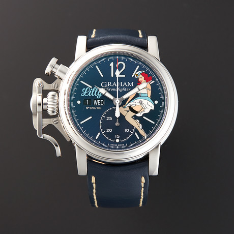 Graham Chronofighter Automatic // 2CVAS.U05A.L129S // Pre-Owned