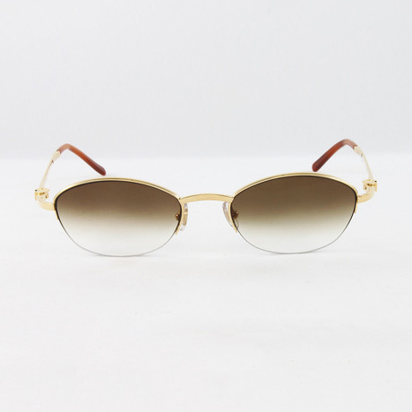 Sapphire Sunglasses // Pale Gold