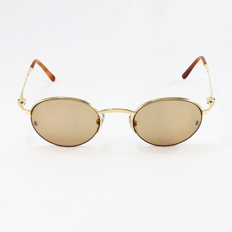 MOG17309 Sunglasses // Pale Gold