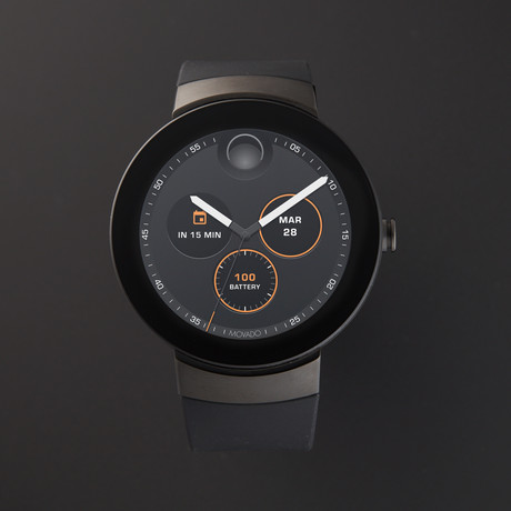 Movado Connect Smartwatch // 3660018 // Store Display