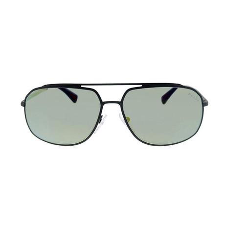 Prada // Metal Sport Men's Sunglasses // Gray Rubber