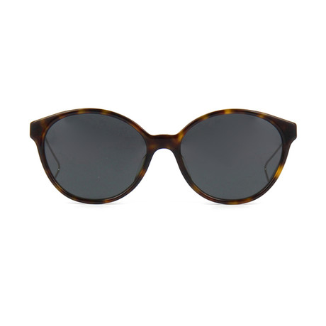 Dior // Women's Dior Confident1F Sunglasses // Dark Havana Light